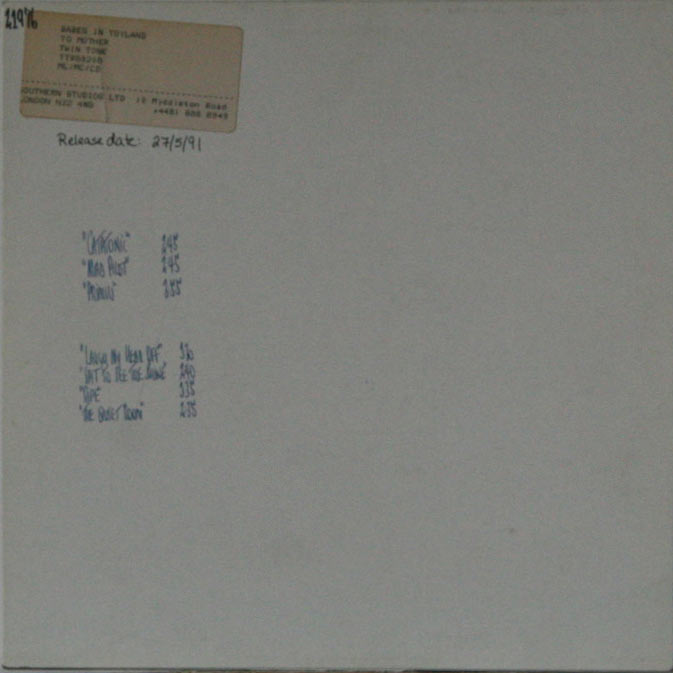 Babes In Toyland - To Mother (test pressing)