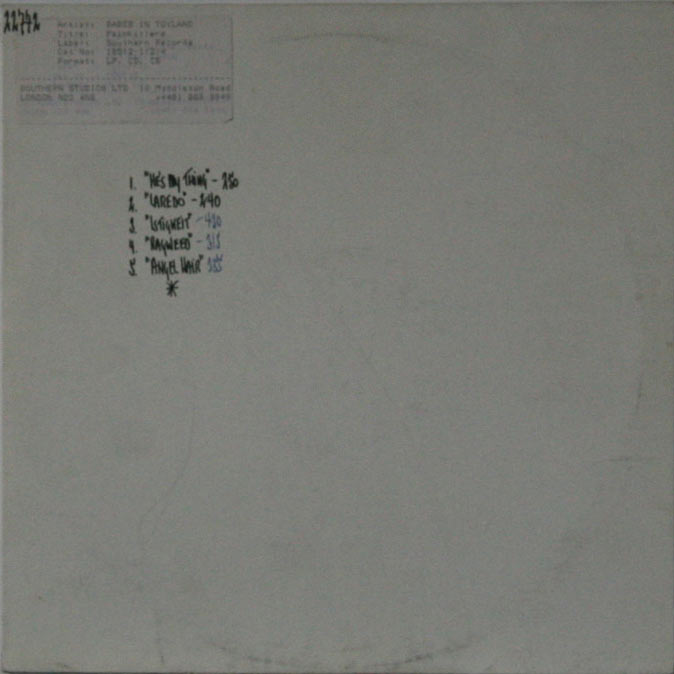 Babes In Toyland - Painkillers (test pressing)