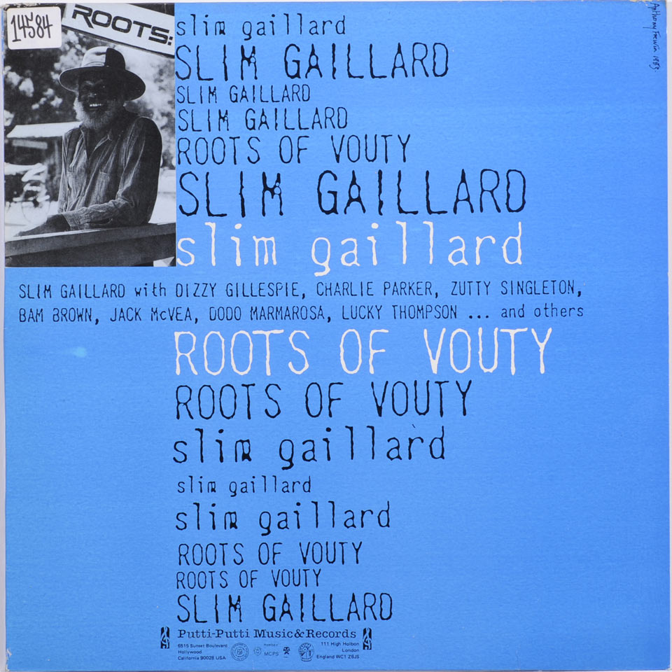 Slim Gaillard - Roots Of Vouty