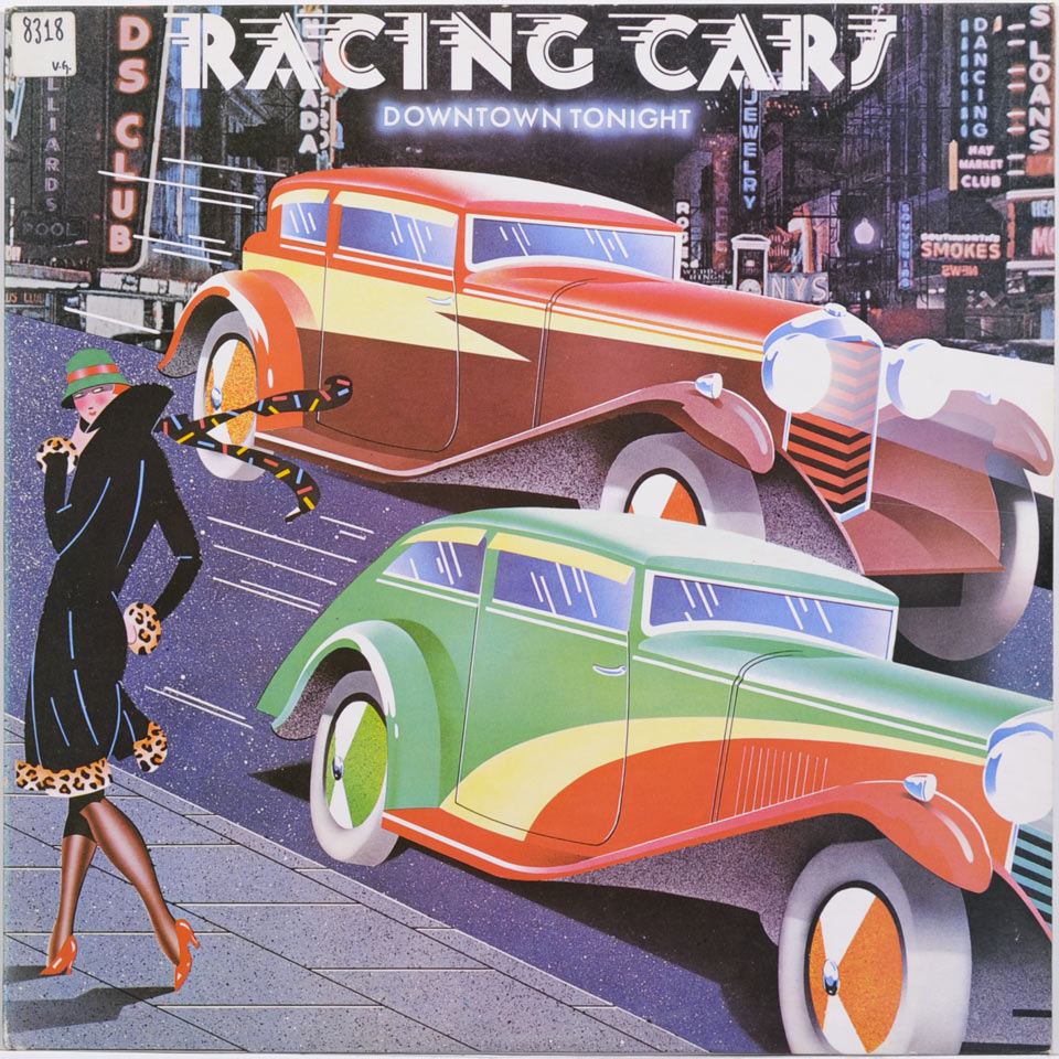 Racing Cars - Downtown Tonight