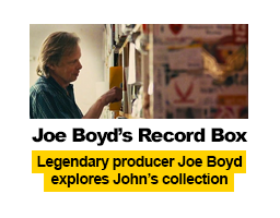 Joe Boyd's Record Box