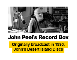 John Peel's Record Box